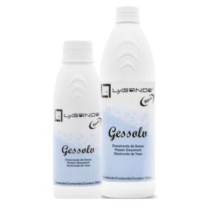 Gessolv Agente Removedor de Gesso 1000 ml (Pacote c/5 Frascos)