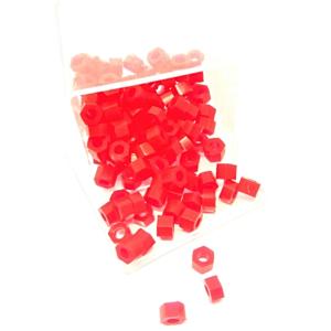 Marcador de Instrumento Sextavado com 100 Vermelho - Jon