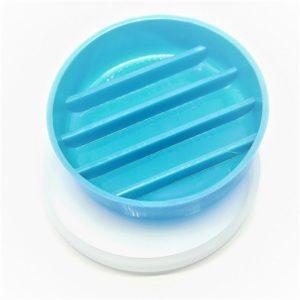 capsula de petry plastica 10x2cm 5 canaletas