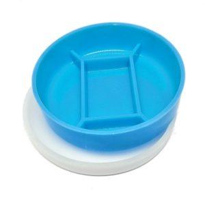 capsula de petry 10x2cm 5 divisoes