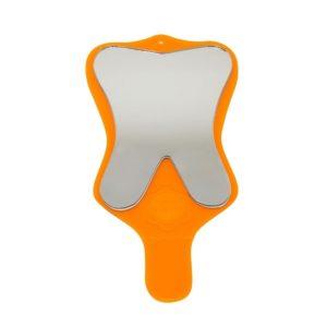 espelho toucador moular com cabo laranja