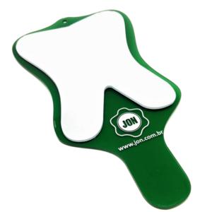 espelho toucador moular com cabo verde