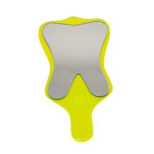 espelho toucador moular com cabo verde limao