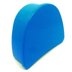 estojo para aparelho ortodontico azul escuro