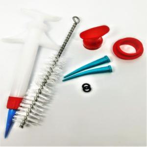 injetor plastico para elastomero