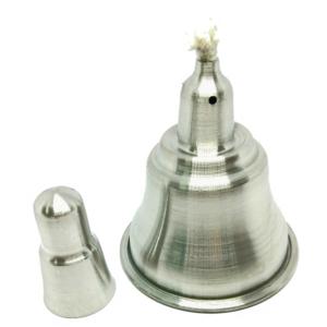 lamparina a alcool de aluminio 100ml