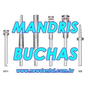 Mandril e Buchas