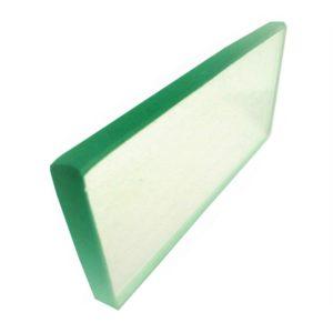 placa de vidro 10mm polida