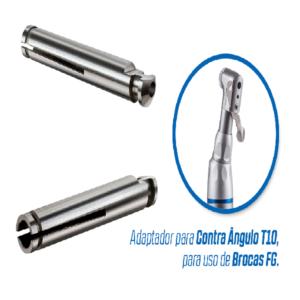 Adaptador P/ Brocas FG Contra Ângulo T10 Cód: 102004 - Schuster