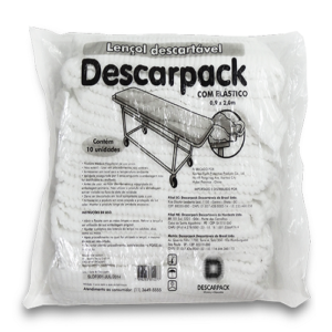 lençol descartável descarpack