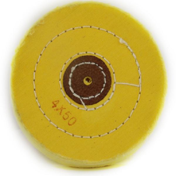 Escova Algodão Amarela 4x50