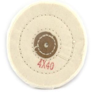 Escova algodão branca 4x40