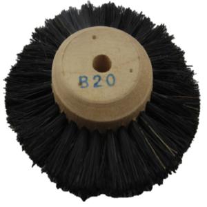 Escova cerdas de javali B20