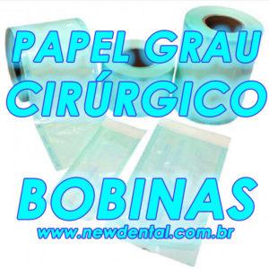 Bobina / Papel Grau Cirúrgico