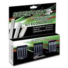Pino de Fibra de Vidro Superpost+ Kit Econômico