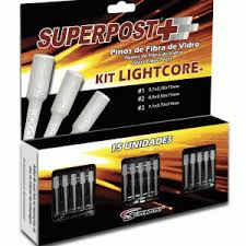 SUPERPOST+ LIGHTCORE KIT - 15 pinos - 3 tam.
