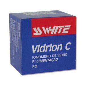 Ionômero de Vidro Para Cimentação Vidrion C Pó - SS White