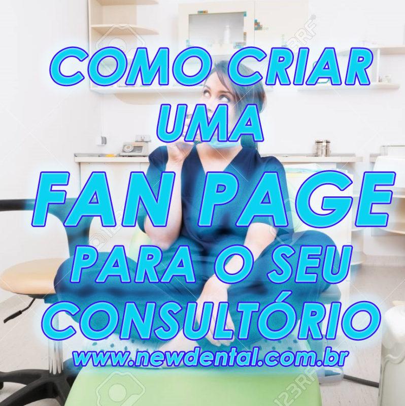 Como criar fan page para o consultório