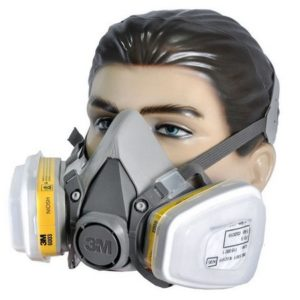 Kit Respirador 3M 6200 Semi Facial Servicos Gerais 2 Filtros-3M