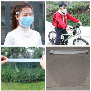 Protetor Facial Transparente Unissex