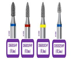 Broca Diamantada HP Cônica Topo em Chama D740- Mig Tools
