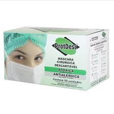 Máscara C/Elástico c/ 50- Protdesc