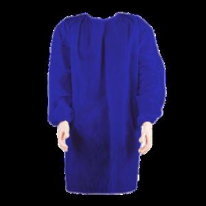 Avental Descartável Manga Longa Azul 40g - Iodontosul