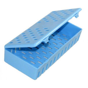 Estojo Autoclavável Azul - Ice