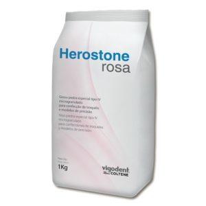 Gesso Pedra Especial Herostone Tipo IV 1kg - Vigodent