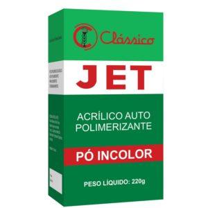 Resina Acrílica Autopolimerizável Jet Pó 440g Incolor - Clássico