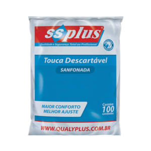 Touca Descartável C/100 - SSPlus