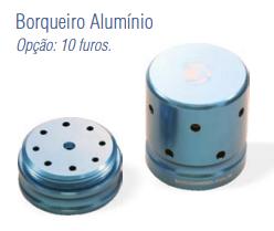 Broqueiro Alumínio 10 Furos -Harte