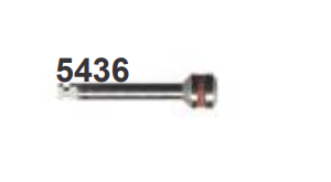 Mandril em Aço Inox Nº5436- Dedeco