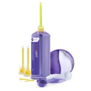 Silicone de Adição Scan Putty Light Kit Cod.P102- Yller